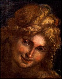 head of an angel by giulio cesare procaccini