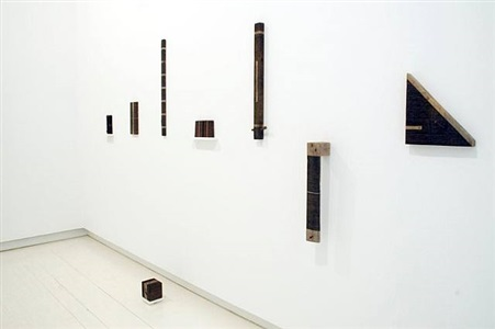 installation view by roger ackling