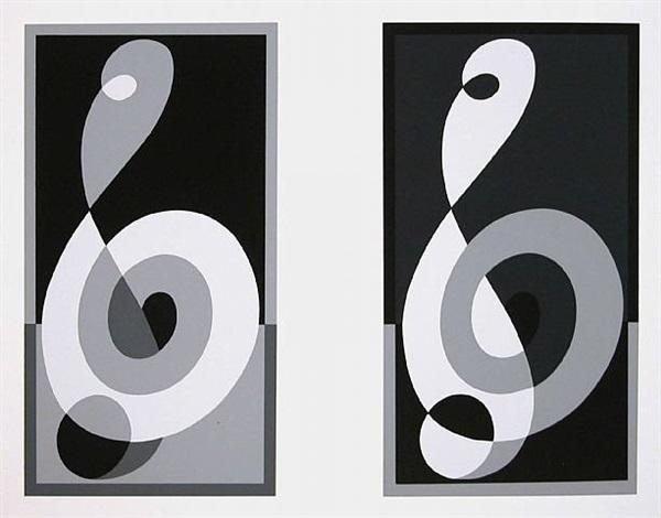portfolio i : folder 16 left by josef albers