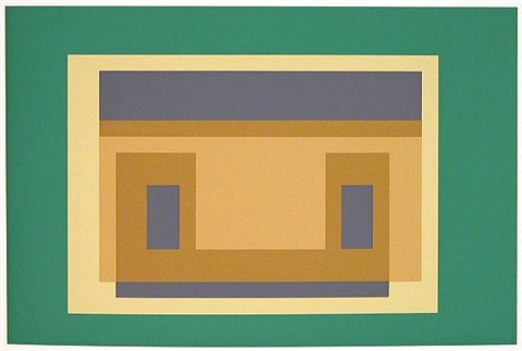 portfolio ii : folder 29 right by josef albers