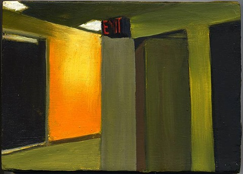 hallway, exit by shirley irons
