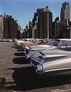 car park, new york by evelyn hofer
