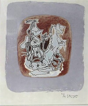 helios vi by georges braque