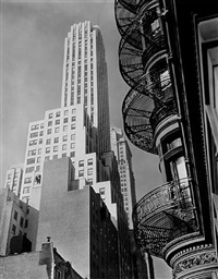 murray hill hotel, november 19,1935 by berenice abbott