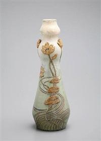 floral vase by paul jean milet
