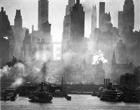 42nd street, ny as viewed from weehawken, nj by andreas feininger