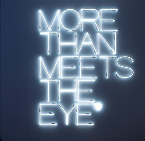 more than meets the eye by maurizio nannucci
