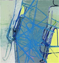 blue / rays by amy sillman