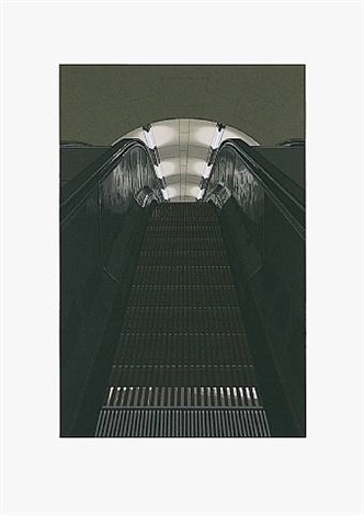 "picadilly station aus portfolio ""urban landscape ii"" by richard estes"