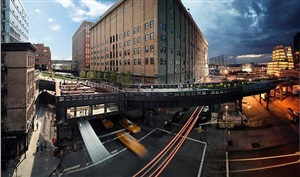 the high line by stephen wilkes