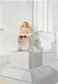 addison hayden wheeler, artist unknown, 2018, human being, display case and mixed media, dimensions variable by andrew sendor
