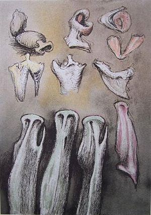 three sisters by henry moore