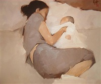 mother and child by nguyen thanh binh