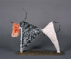 taureau de profil by jean lambert-rucki