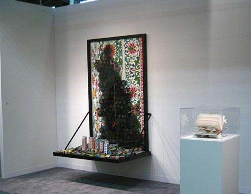 hema upadhyay, killing site i, 2008 - giulio paolini , l'arte e lo spazio. quattro illustrazioni per martin heidegger – 1983