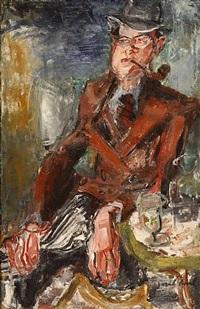 portrait d'ernest lajeunesse by gen paul