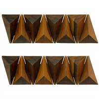 pair of untitled wall sculptures #14 by zanini de zanine caldas