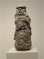 coiled pot by robert arneson