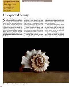 american art collector - april article, page 166
