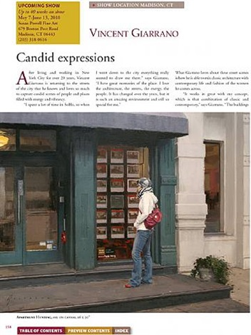 american art collector - may article, page 158