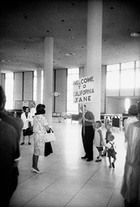 los angeles international airport by garry winogrand