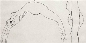 arched figure by louise bourgeois