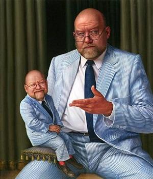 double self portrait by gary bolding