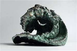 wave relief x by maggi hambling