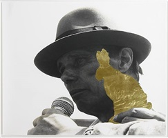 goldhase (kassel 1982) by joseph beuys