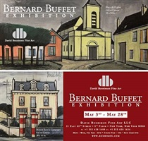 bernard buffet exhibition may 3 - may 28, 2010