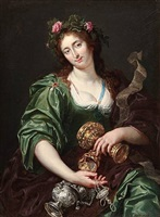 an allegory of richness by abraham janssen the younger