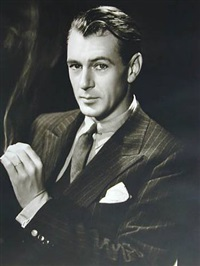 gary cooper by george hurrell