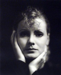 greta garbo-the kiss #1 by clarence sinclair bull