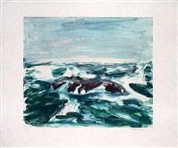 ocean rock by richard bosman