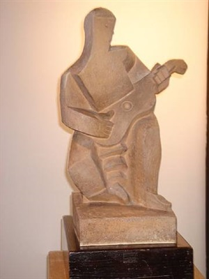 le guitariste by pablo curatella manès