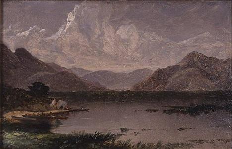 killarney lakes by john frederick kensett