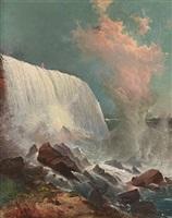 niagara falls by edward moran