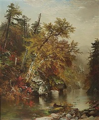 a pool in the adirondacks by arthur parton