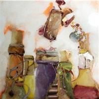 cinq bouteilles et son bouchon by david & david