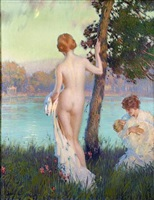 the bathers by edward dufner