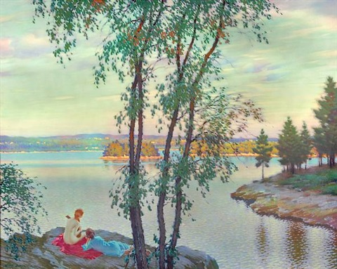 evening song by edward dufner