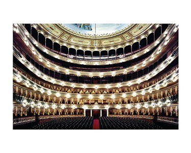 teatro colon buenos aires i by candida höfer