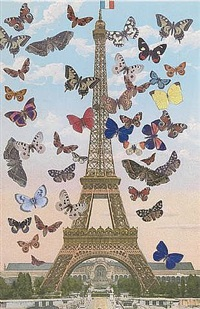 eiffel tower by peter blake