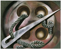 the hunter's dream by francesco clemente