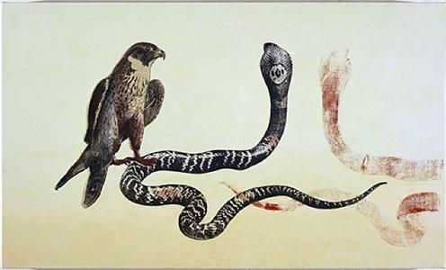 falcon/cobra by philip taaffe