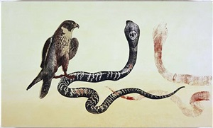 falcon/cobra by philip taaffe