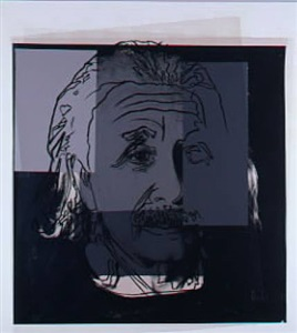 ten portraits of jews of the 20th century albert einstein by andy warhol