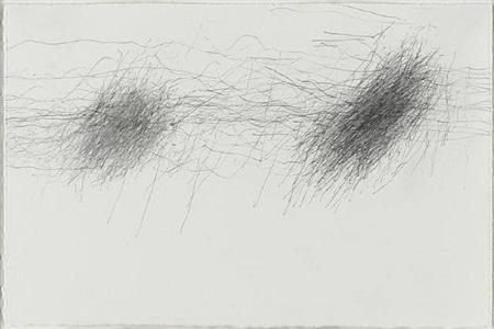 subway drawing 3.18.93 by william anastasi