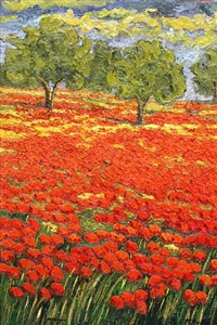 poppy field by maria amparo