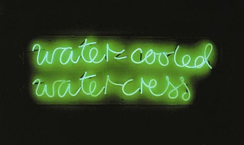 water-cooled watercress by ian hamilton finlay